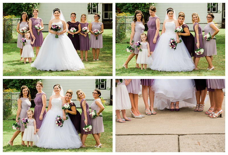 bridal party in Buffalo, NY