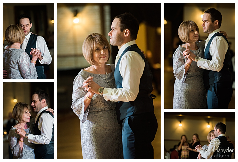 Groom and his Mother share a dance in Buffalo, NY