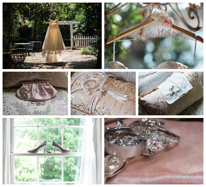 Wedding details in Roswell, GA
