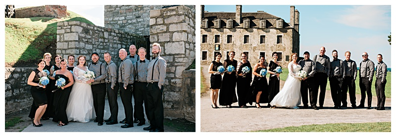 Bridal Party Pictures in Niagara Falls, NY