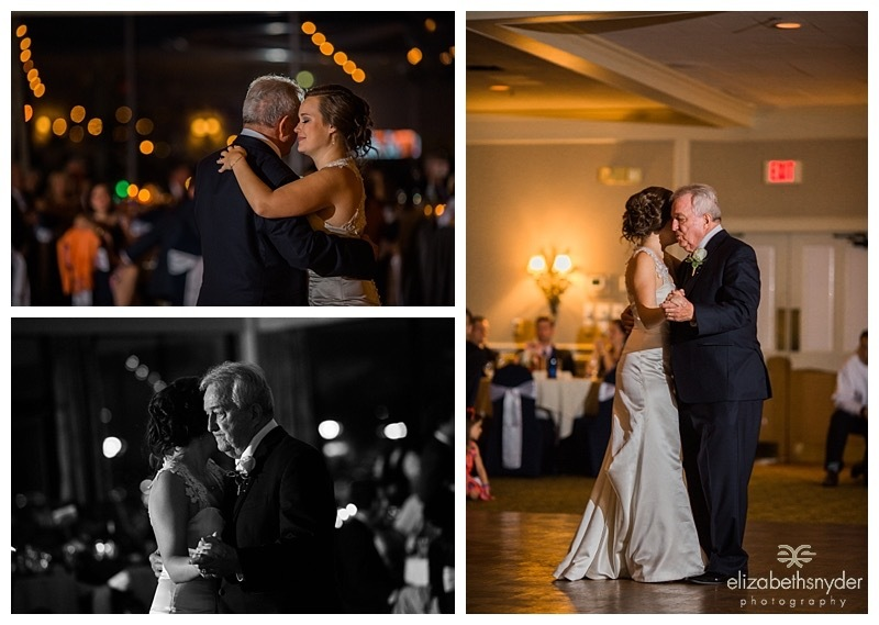 Bride and her father share a dance.